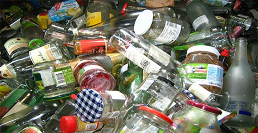 مشاريع إعادة تدوير الزجاج